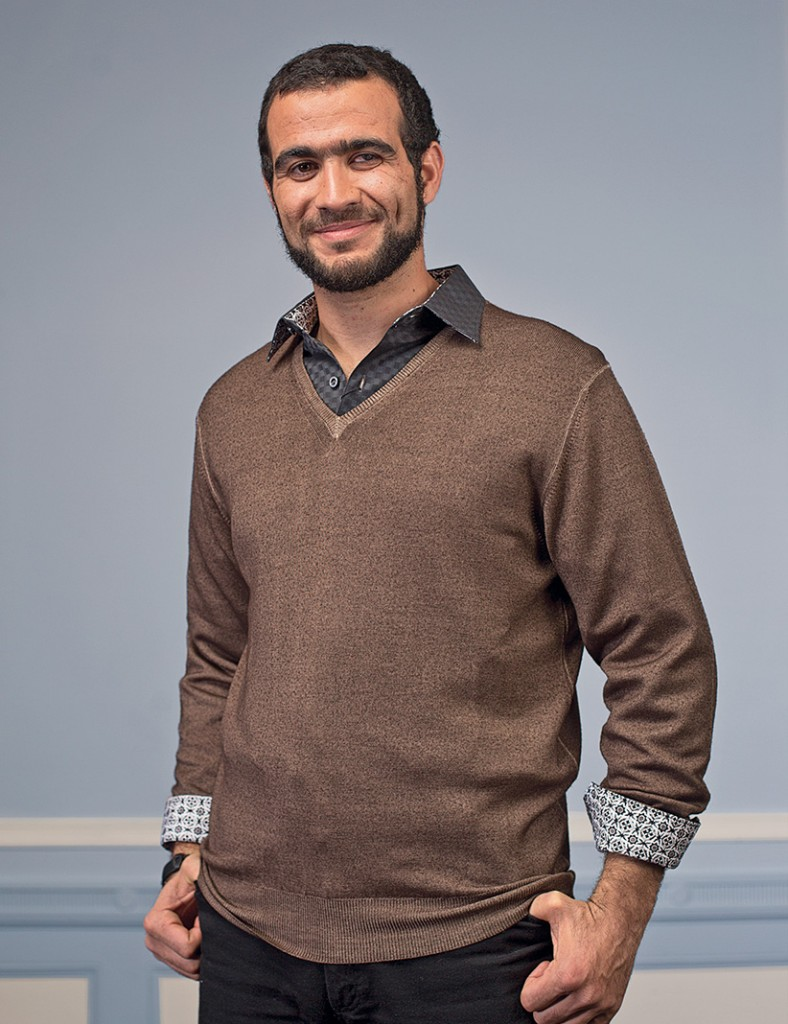 Omar Khadr.  (Photograph by Amber Bracken).