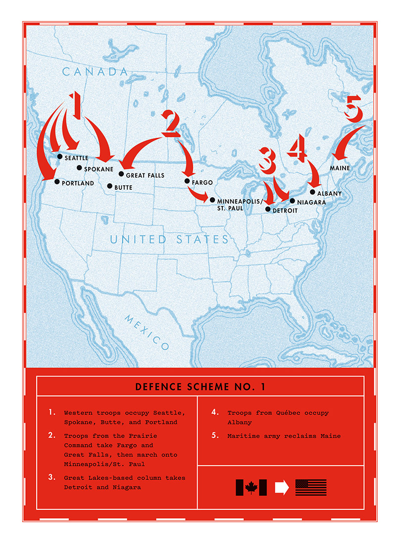 How Canada planned to invade the U.S. (and vice versa)