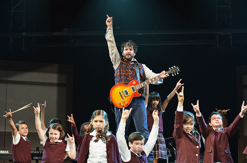 "A preview performance of ""School of Rock - The Musical.""  (Slaven Vlasic/Getty Images)"