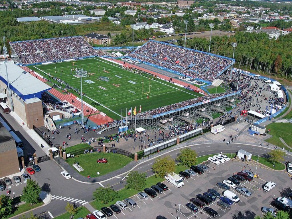 Stade Juillet, Moncton.