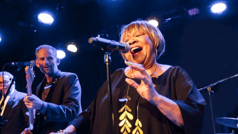 Mavis Staples. (Handout from the film Mavis!)
