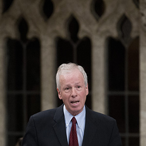 iLiberal MP Stephane Dion rises during Question Period in the House of Commons Thursday May 1, 2014 in Ottawa. THE CANADIAN PRESS IMAGES/Adrian Wyld