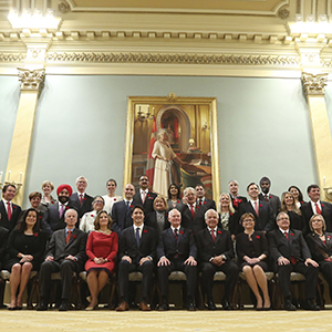 Cabinet connections: How Trudeau's ministers link together