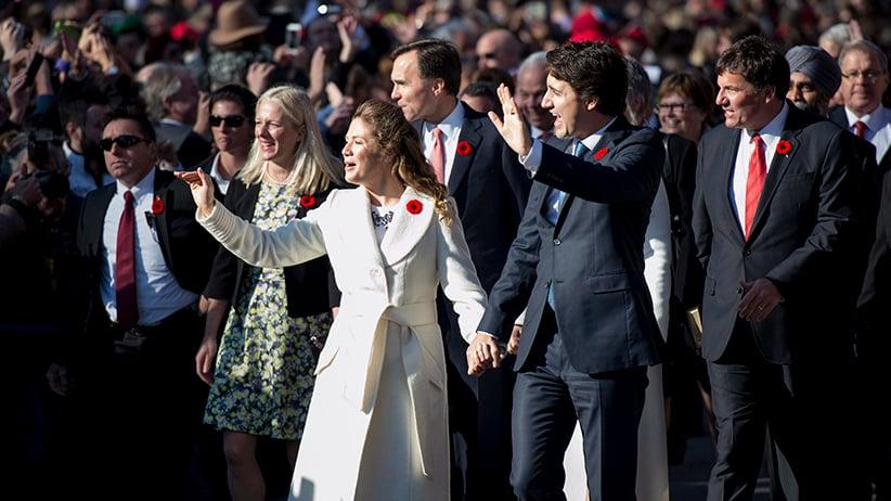 Justin Trudeau, Sophie Gregoire-Trudeau