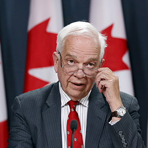 Canada's Immigration Minister John McCallum speaks during a news conference in Ottawa, Canada November 24, 2015. (Chris Wattie/Reuters)