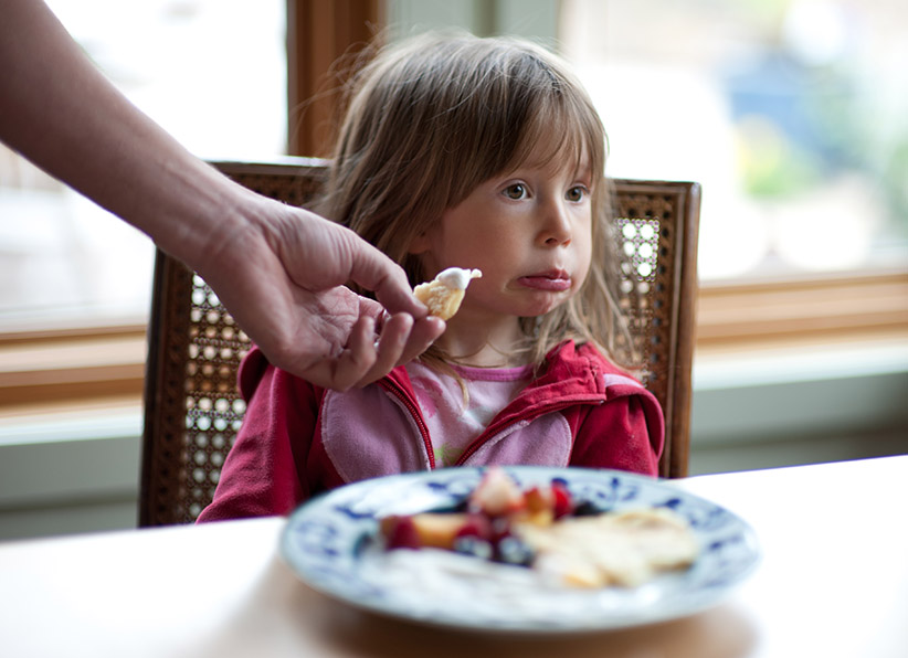 A naturally picky eater? There's no such thing.