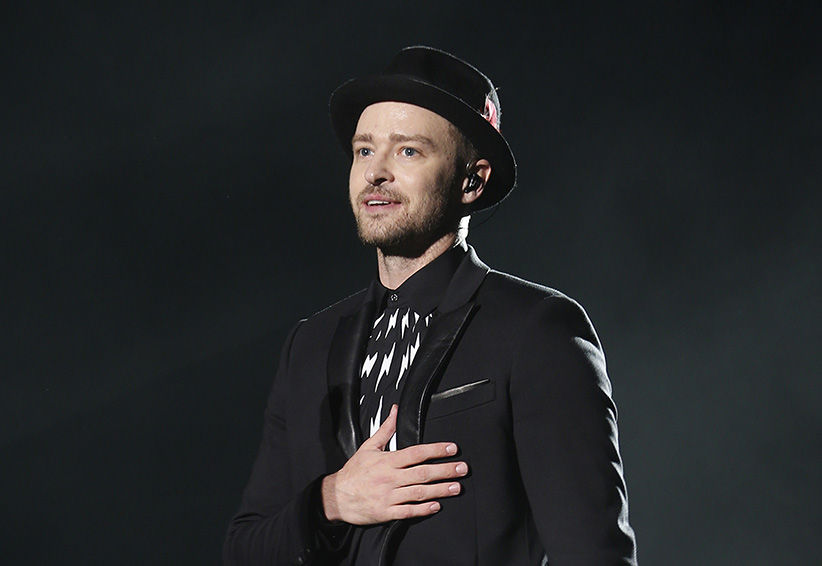 Justin Timberlake performs during the 13th Mawazine World Rhythms international Music Festival in Rabat May 30, 2014. Youssef Boudlal / Reuters