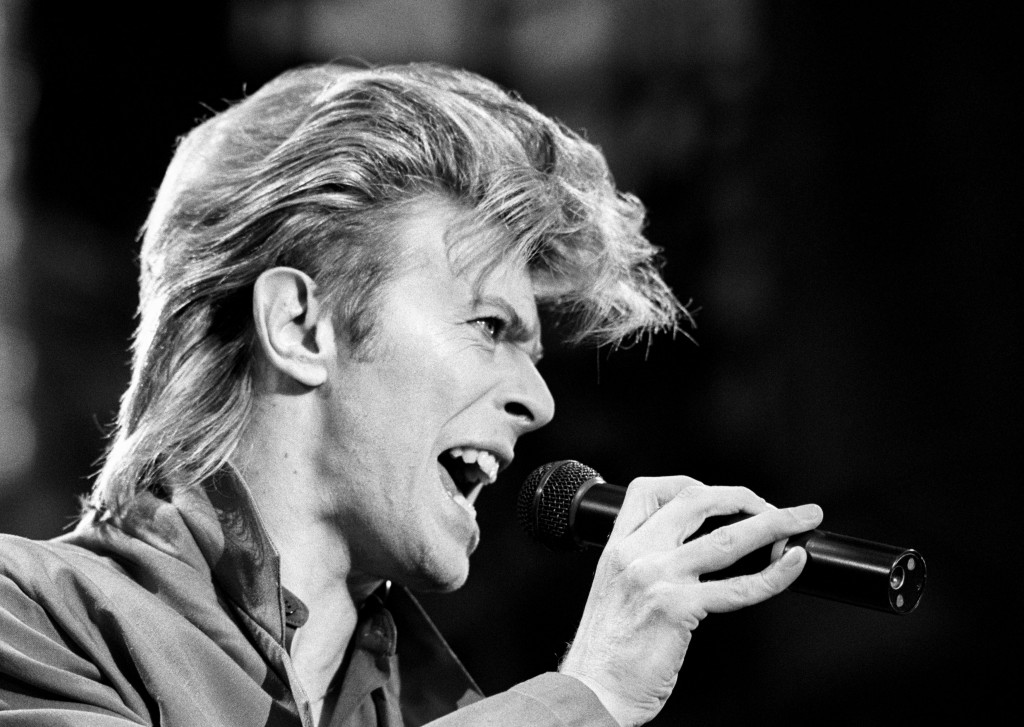 This is a June 19, 1987 file photo of David Bowie. Bowie, the other-worldly musician who broke pop and rock boundaries with his creative musicianship, nonconformity, striking visuals and a genre-bending persona he christened Ziggy Stardust, died of cancer Sunday Jan. 10, 2016. (PA, File via AP)