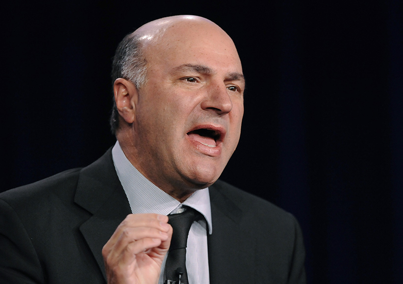 "Television personality and businessman Kevin O'Leary takes part in a panel discussion of ABC's reality series ""Shark Tank"" during the 2013 Winter Press Tour. (Gus Ruelas/Reuters)"