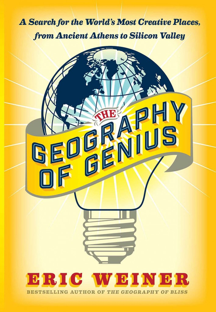 The Geography of Genius by Eric Weiner. (no credit)
