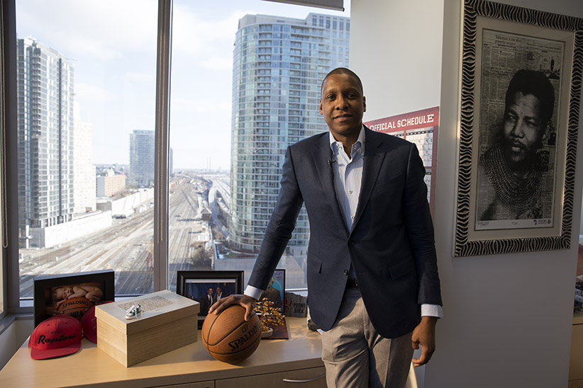 Masai Ujiri on how basketball is becoming Canada's game