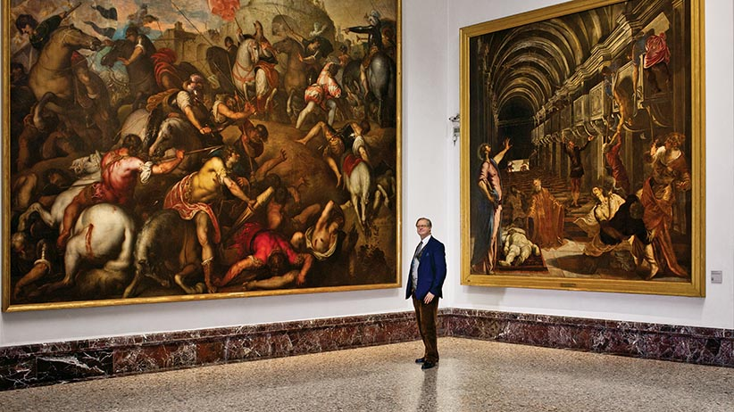 Canadian James Bradburne is part of a huge plan to revitalize Italy's museums. (Photograph by Federico Ciamei)