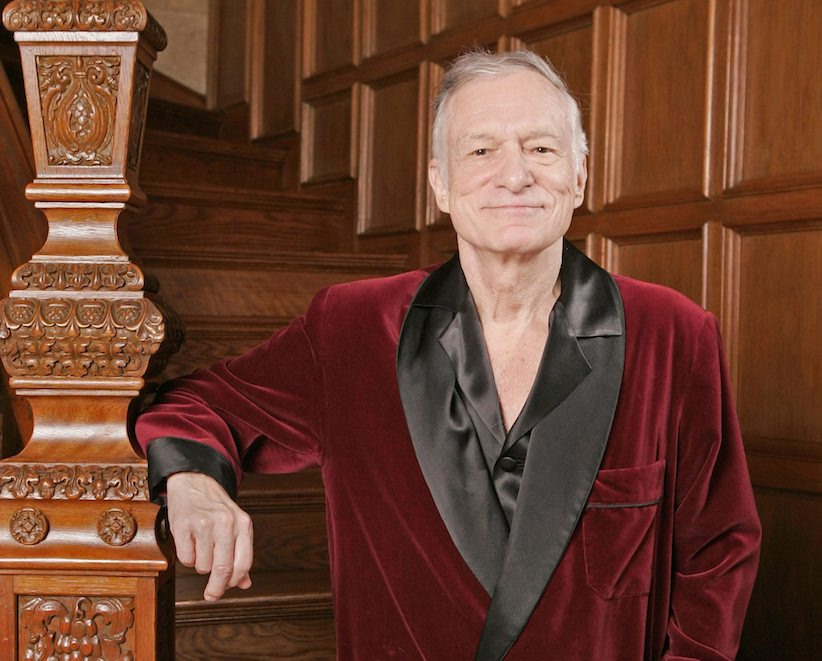 Hugh Hefner and the Playboy Mansion, circa 2006. (AP Photo/Kevork Djansezian, File)