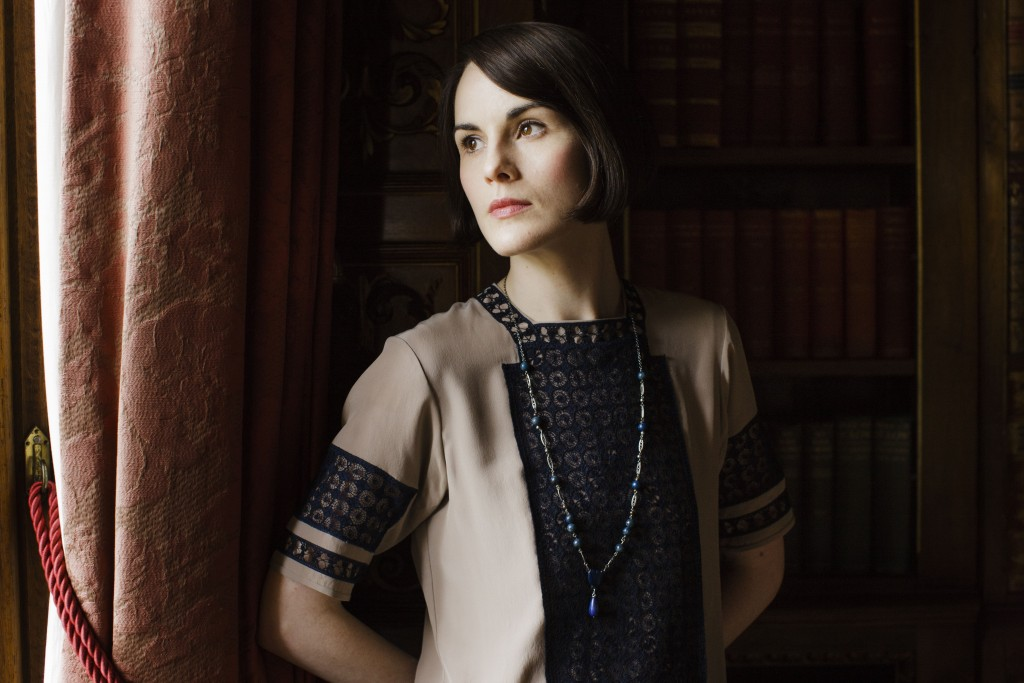 Shown: Michelle Dockery as Lady Mary (C) Nick Briggs/Carnival Film & Television Limited 2015 for MASTERPIECE