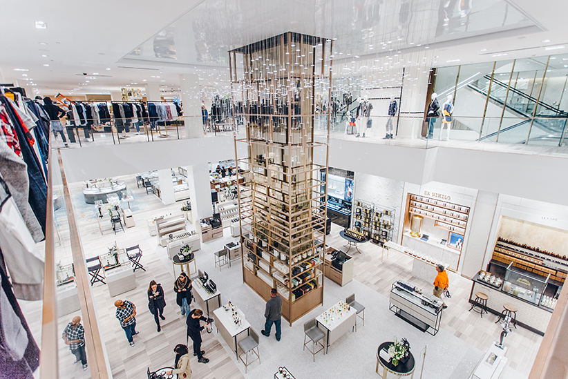 Saks Toronto. (Photograph by Wyatt Clough)