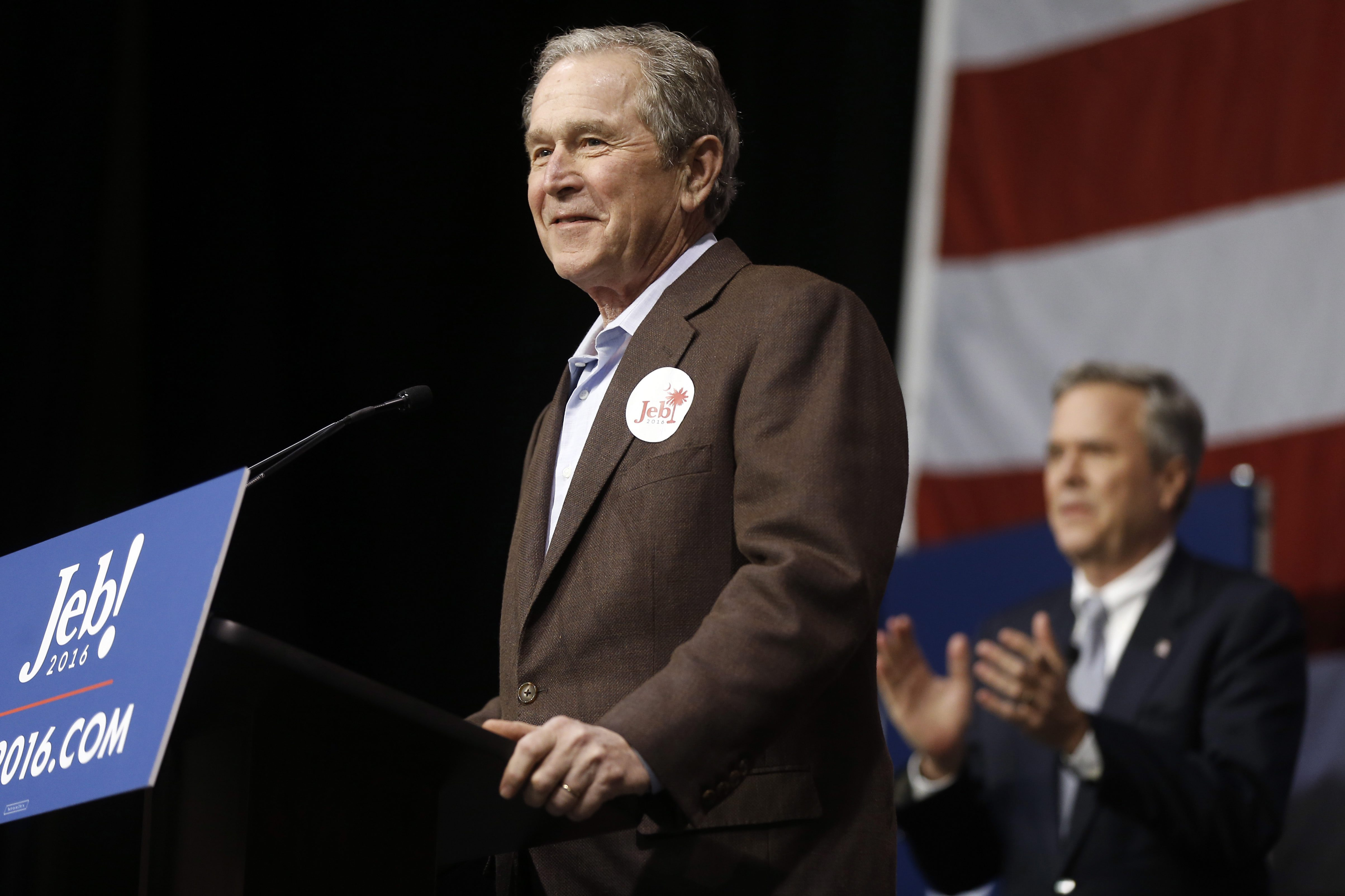 an essay on the presidential candidate george w bush George w bush has written a loving book about his father, out in  it is  conceivable that the presidential candidate closest to the elder bush.