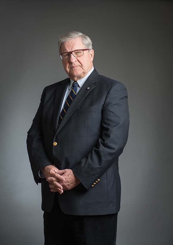 Dr Lloyd Axworthy. (Photograph by Thomas Fricke)