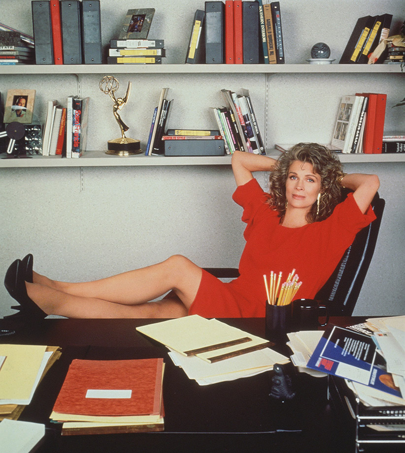 Candice Bergen as Murphy Brown. Image dated 1990. (CBS Photo Archive/Getty Images)
