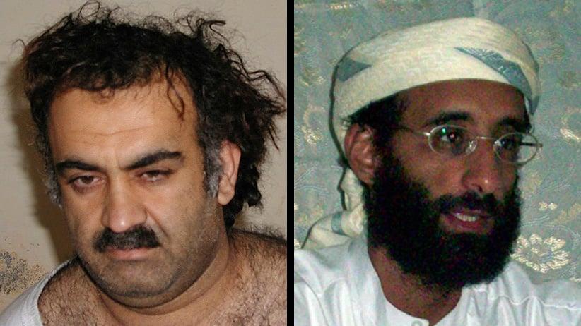 Khalid Sheikh Mohammed (left) and Anwar al-Awlaki.