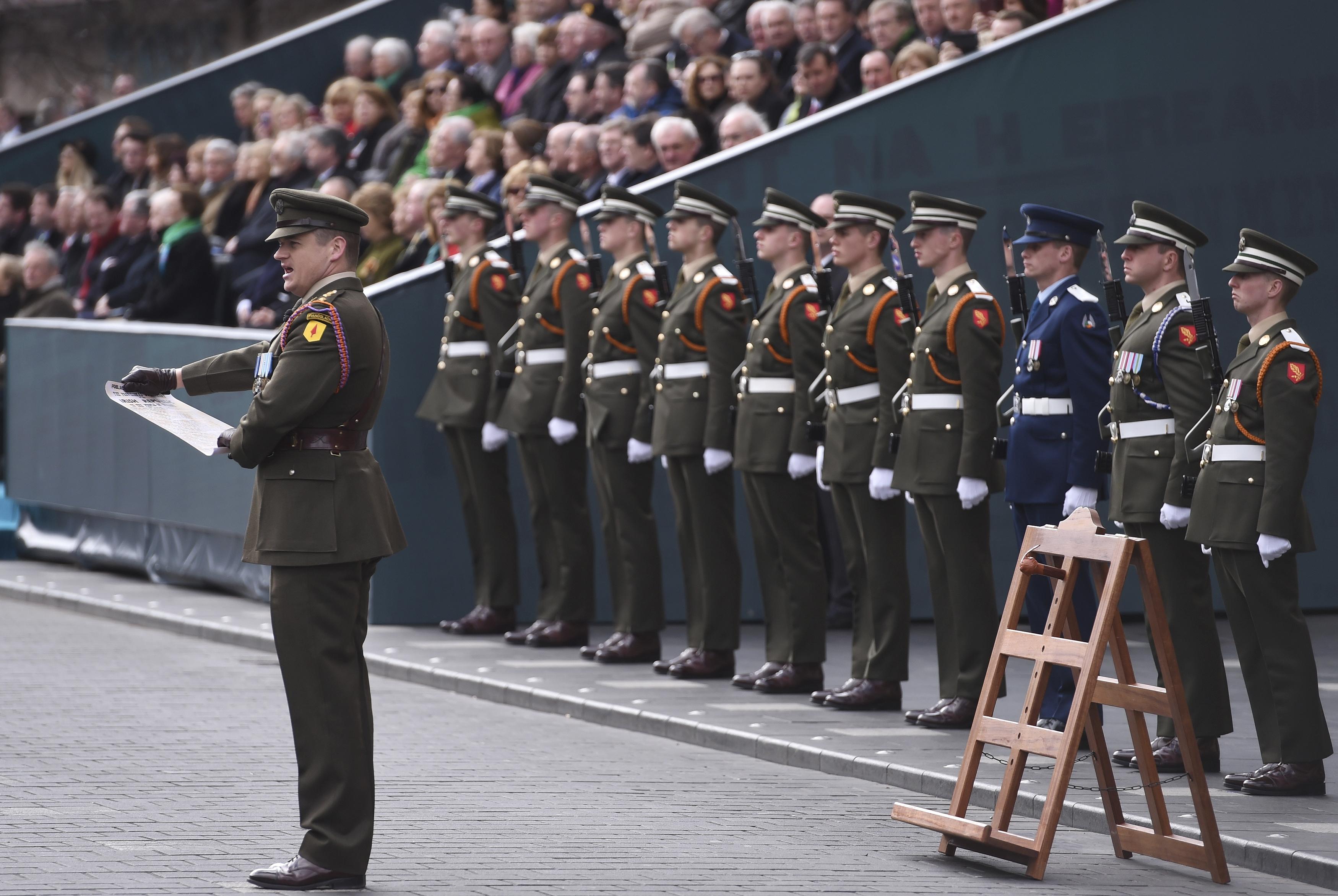 Ireland recalls fateful Easter Rising against British rule