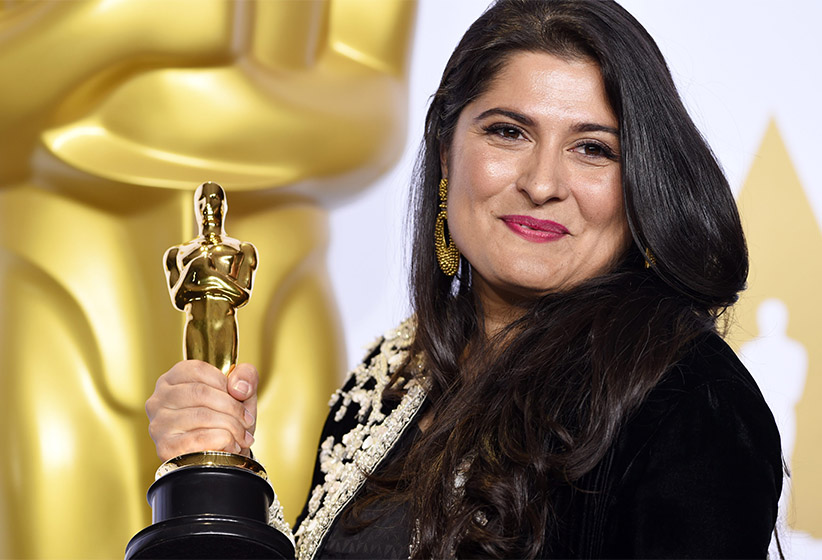 Sharmeen Obaid-Chinoy - Best Documentary Short Subject, A Girl in the River: The Price of Forgiveness 88th Annual Academy Awards, Press Room, Los Angeles, America - 28 Feb 2016. (David Fisher/REX/Shutterstock/CP)
