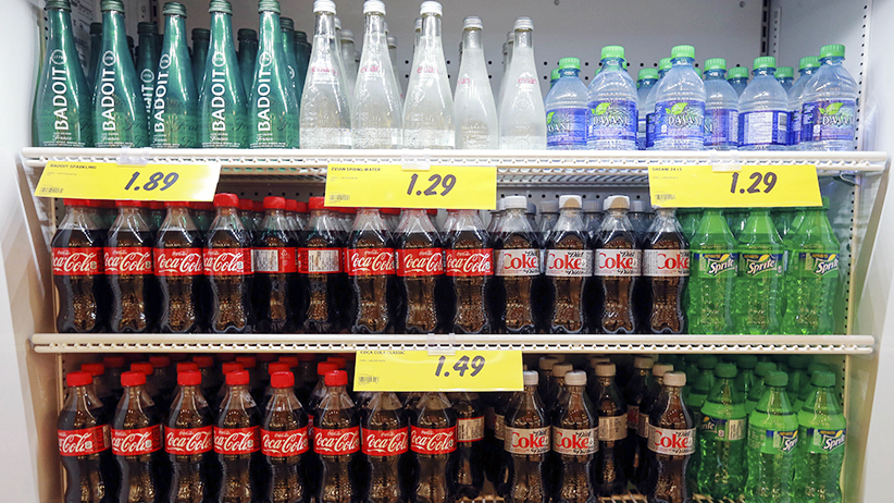 Cott Corp. stock is beating its North American peers including Coca-Cola Co. and PepsiCo Inc. as the Canadian beverage maker diversifies away from sugary soft drinks to cater to health-conscious consumers. Toronto, June 26, 2015. (Andrew Francis Wallace/Toronto Star/Getty Images)