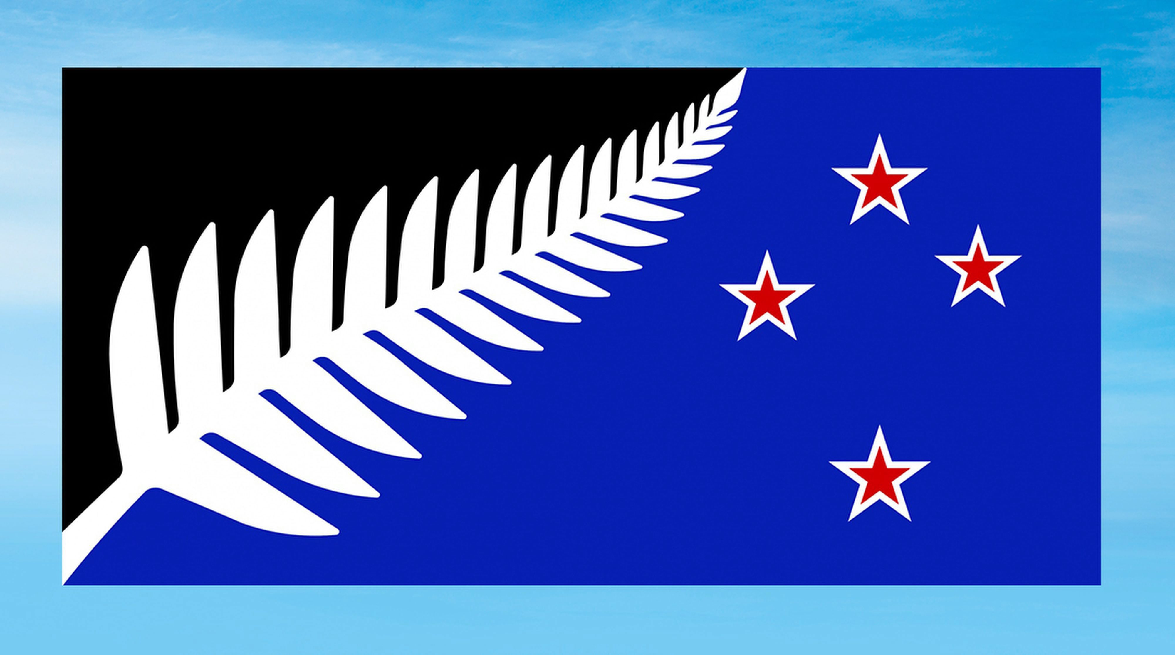 This Undated Illustration Provided By The New Zealand Government Shows The Design Of A New Flag