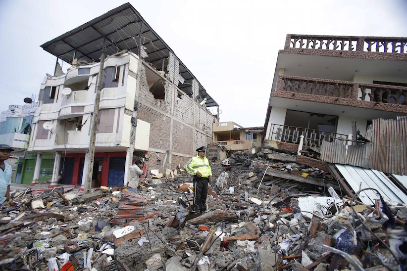 Two Canadians reported dead in Ecuador earthquake
