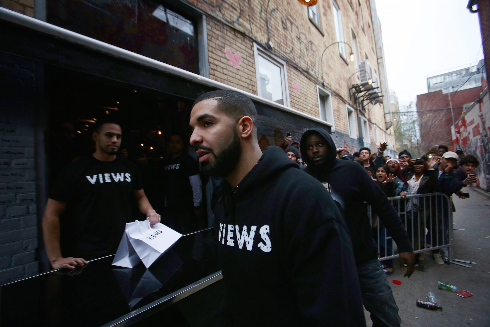 Drake's incomplete views from the Six
