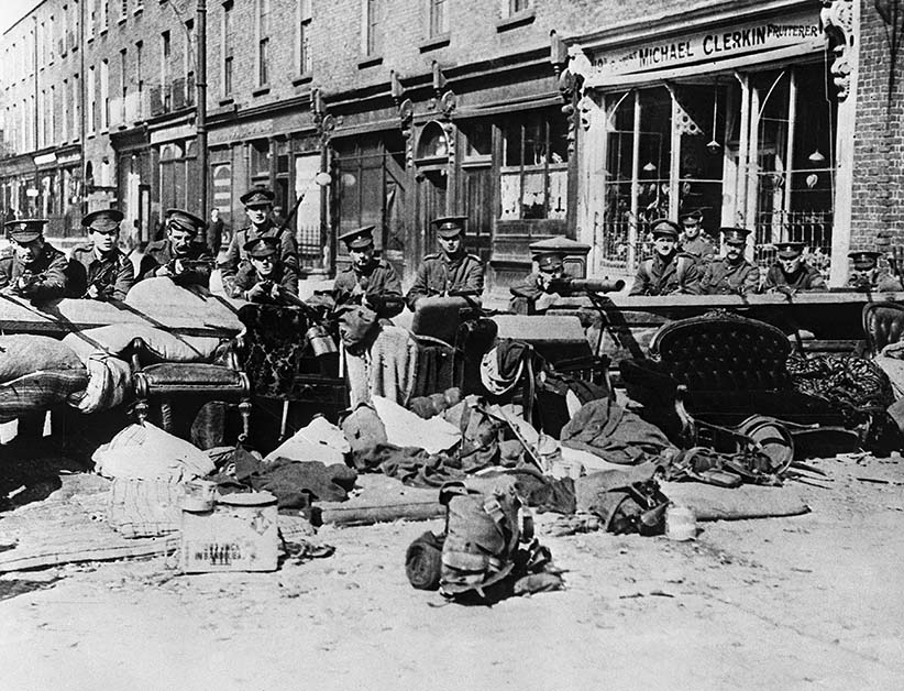 the irish easter rebellion 1916 It was the headquarters of the men and women who took part in the easter rising of april 1916 while that rebellion ended in failure with most irish people.
