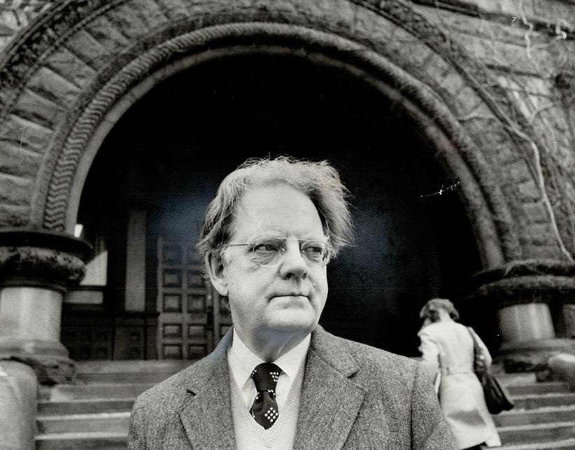Professor Northrop Frye. (Boris Spremo/Getty Images)