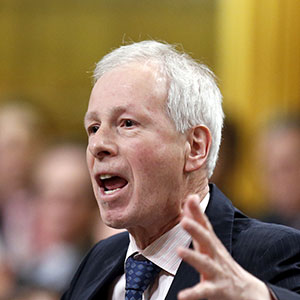 Canada's Foreign Minister Stephane Dion speaks during Question Period in the House of Commons on Parliament Hill in Ottawa, Canada, January 27, 2016. Chris Wattie/Reuters