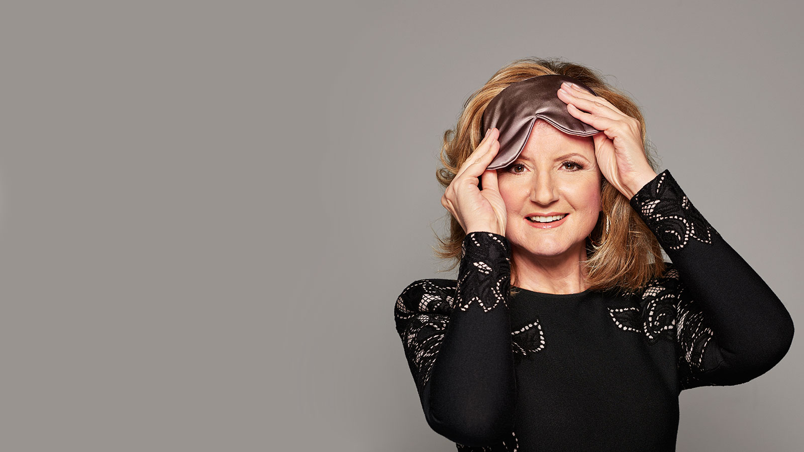Arianna Huffington for her new book. (Peter Yang)