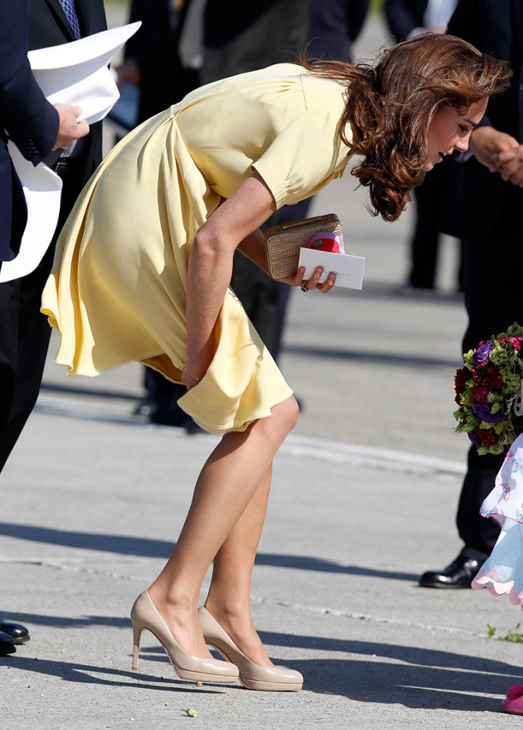 Kate, duchess of Cambridge at the Calgary airport, 2011 (Phil Noble/Reuters)