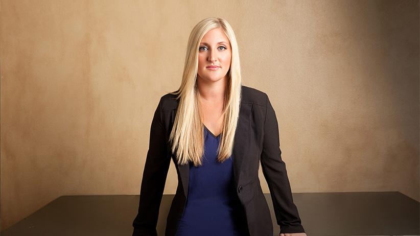 MONSTER IN MY FAMILY host Melissa Moore. (Richard Knapp/Lifetime/Everett Collection)
