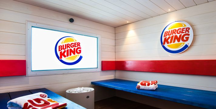 In Finland, a Burger King with a sauna