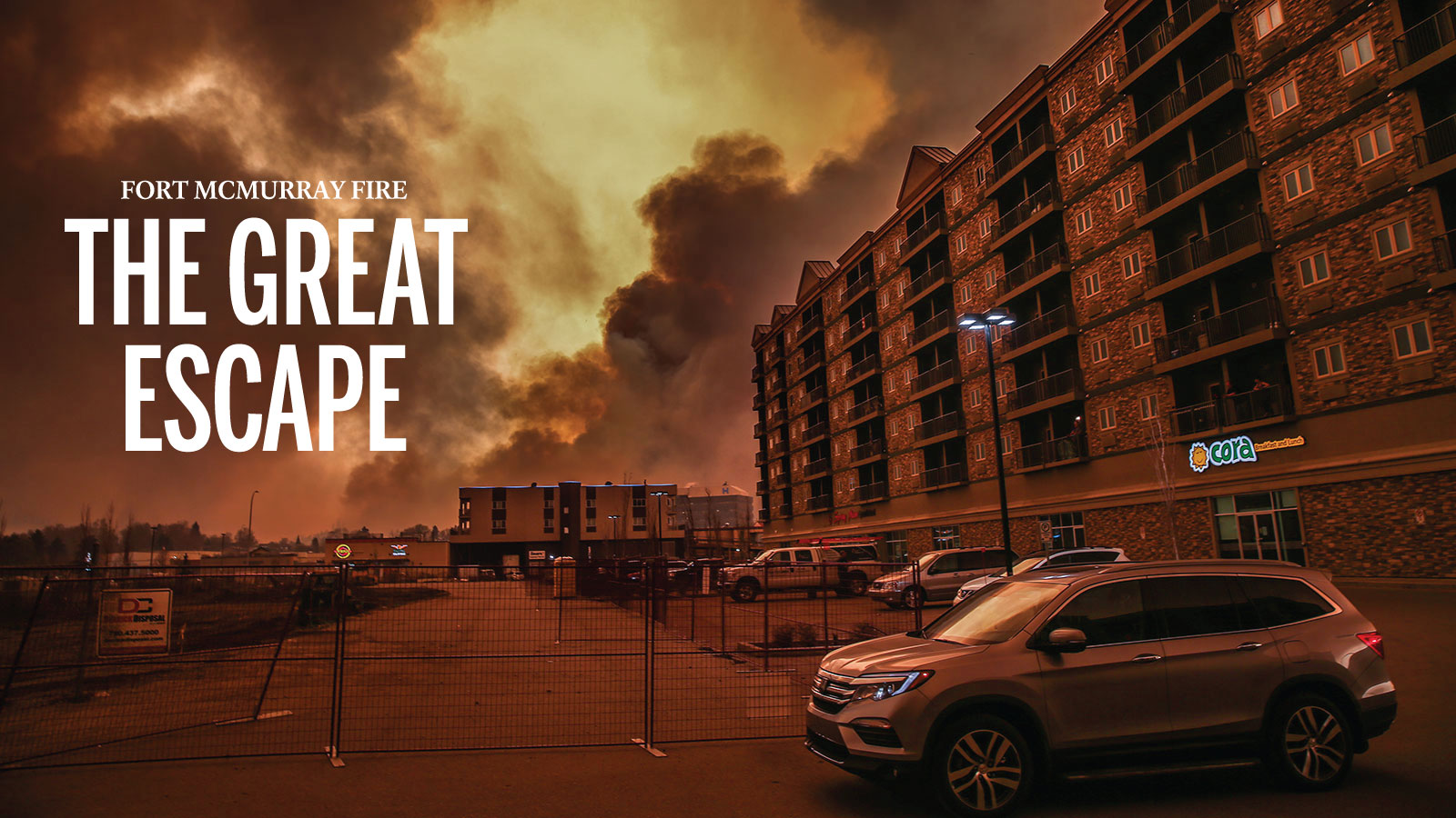 Fort Mcmurray Fire The Great Escape
