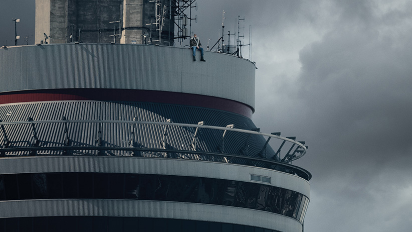 The cover of Drake's new album The Views. (Caitlin Cronenberg)