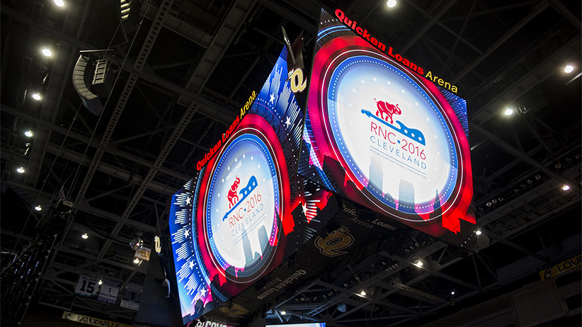 The Quicken Loans Arena will host the 2016 Republican National Convention in Cleveland, Ohio. (Bill Clark/CQ Roll Call)