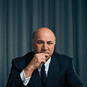 Kevin O'Leary poses for a portrait at his hotel in Miami, January 19th, 2016. (Photograph by Ryan Stone/Novus Select)