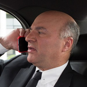 Kevin O'Leary, aka Mr. Wonderful, in New York. (Photograph by Stephanie Noritz)