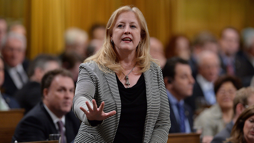 Conservative MP Lisa Raitt responds to a question during question period in the House of Commons on Parliament Hill in Ottawa  (Sean Kilpatrick/CP)