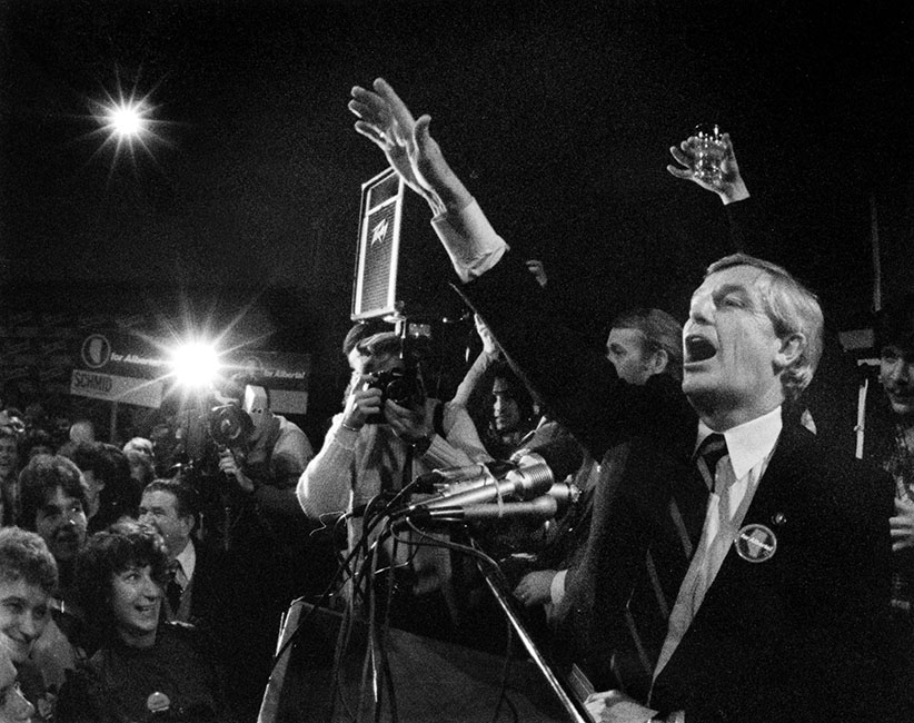 Lougheed (pictured) had the longest-serving government in Canadian history. (Keith McNichol/Edmonton Journal/CP)