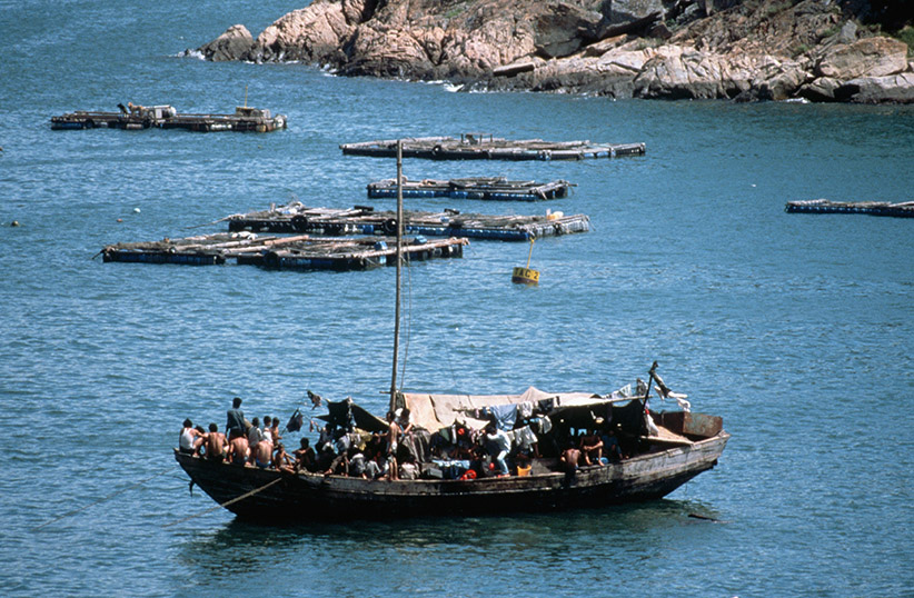 Vietnamese Boat People. (Peter Turnley/Corbis/VCG/Getty Images)