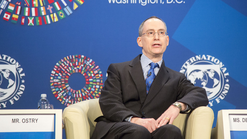 IMF deputy director Jonathan Ostry at the 2016 IMF/World Bank Spring meetings in Washington, D.C. in April. (Photo credit: Roxana Bravo/IMF Photo)
