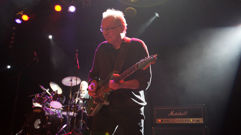 Peeter Kopvillem performing with The Back Issues at The Opera House on Friday, November 4, 2011. (Jenna Marie Wakani)