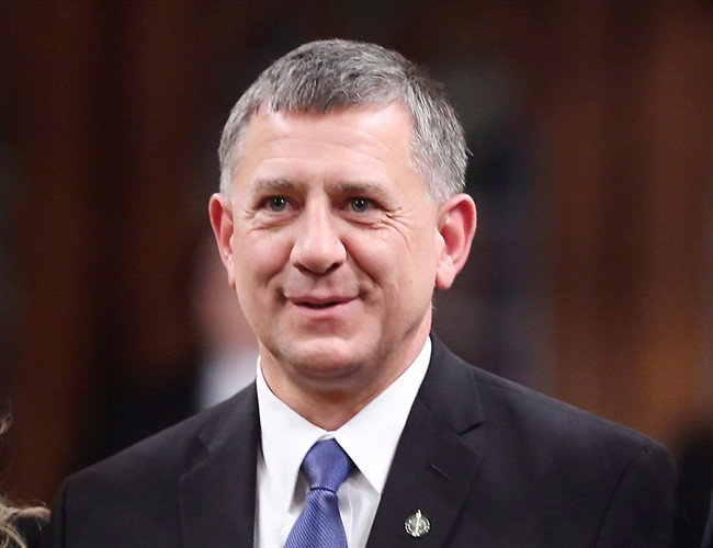 Conservative MP Ted Falk of the Provencher (Manitoba) riding, in the House of Commons in Ottawa Monday January 27, 2014. (Fred Chartrand/CP)