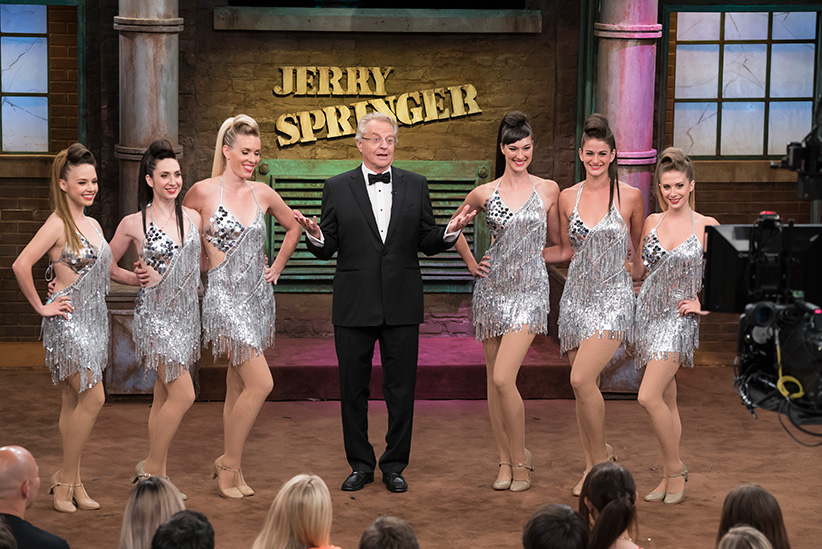 The Jerry Springr Show, Season Twenty five. (Virginia Sherwood/NBC)