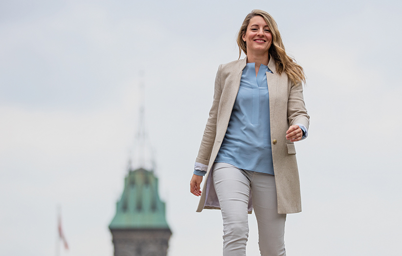 Mélanie Joly Minister of Canadian Heritage June 2, 2016. (Photograph by Jason Ransom)