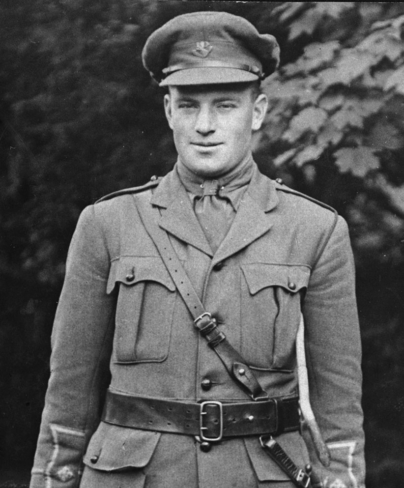 Lt. Richard Shortall, who died at Beaumont-Hamel. (Room Archives)